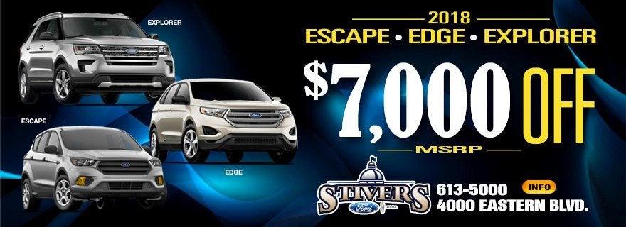 Stivers Ford Montgomery Escape Edge Explorer